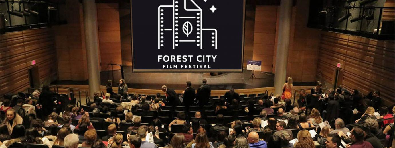 Forest City Film Festival at London Public Library in the Wolf Performance Hall